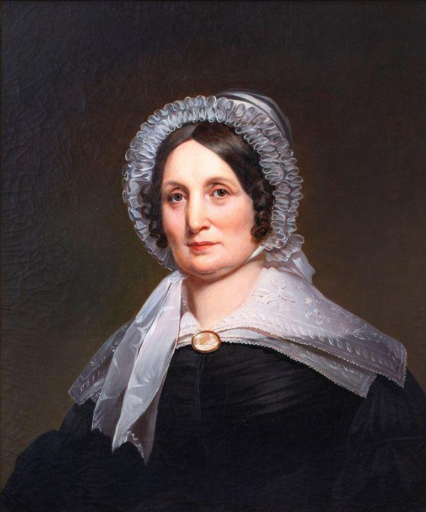 Jacob Eichholtz~Portrait of Mrs. Geo - Classical art