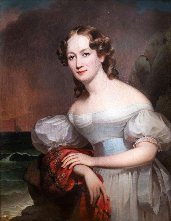Jacob Eichholtz~Portrait of Serena A - Classical art
