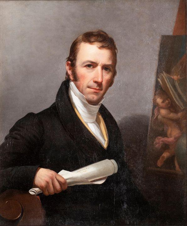Jacob Eichholtz~Self-portrait of Jac - Classical art