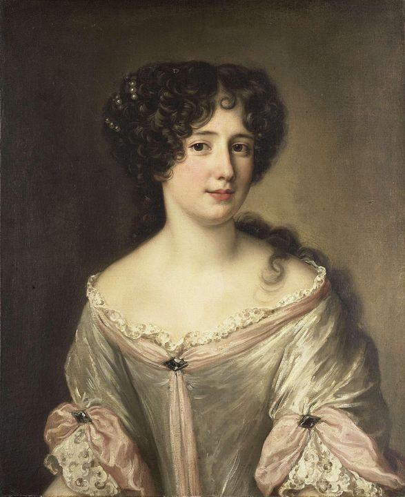 Jacob Ferdinand Voet~Portrait of Mar - Classical art