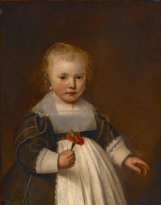 Jacob Gerritsz. Cuyp~Portrait of a L - Classical art