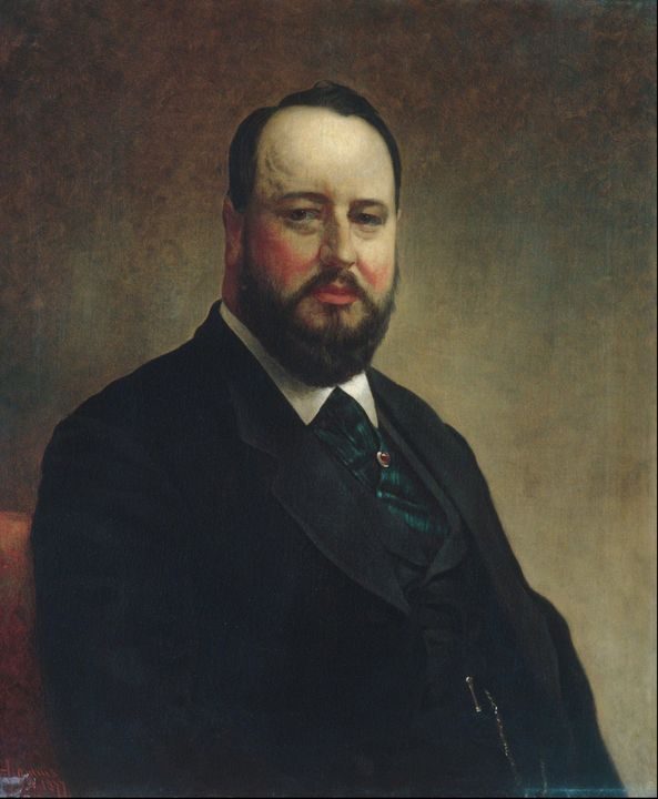 Jacob Hart Lazarus~Joseph W. Drexel - Classical art