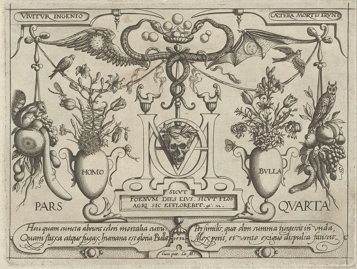 Jacob Hoefnagel~Dieren, planten en v - Classical art
