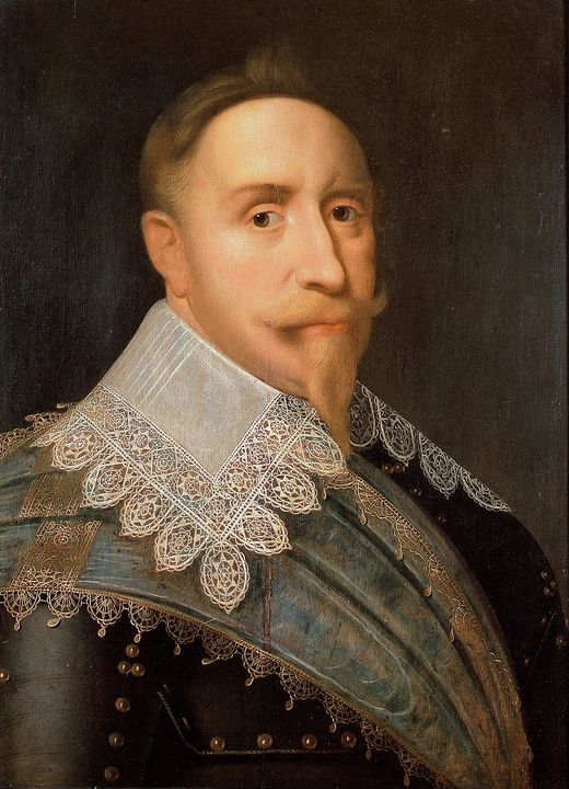 Jacob Hoefnagel~Gustav II Adolf, Kin - Classical art