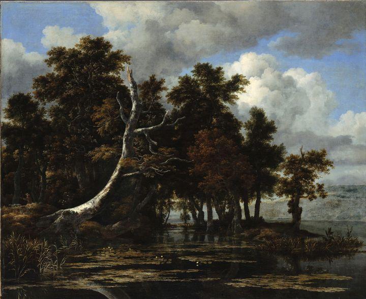 Jacob Isaacson Van Le Isdar~Oaks at - Classical art