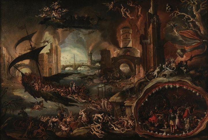 Jacob Isaacsz. van Swanenburgh~Aenea - Classical art