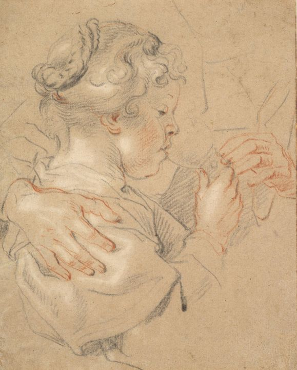 Jacob Jordaens~Study of a Young Girl - Classical art