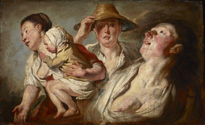 Jacob Jordaens~Summer - Classical art