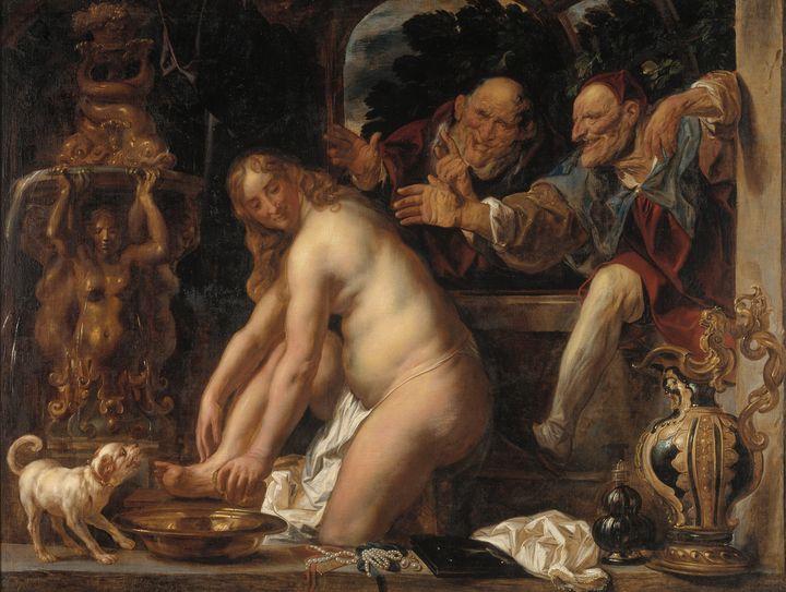 Jacob Jordaens~Susanna and the Elder - Classical art