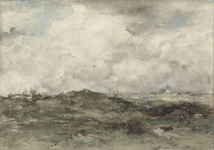 Jacob Maris~Duinlandschap - Classical art