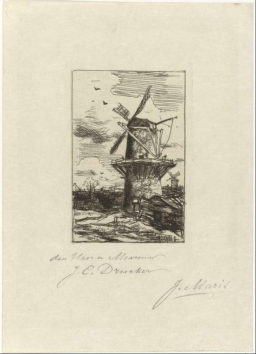 Jacob Maris~Molen - Classical art
