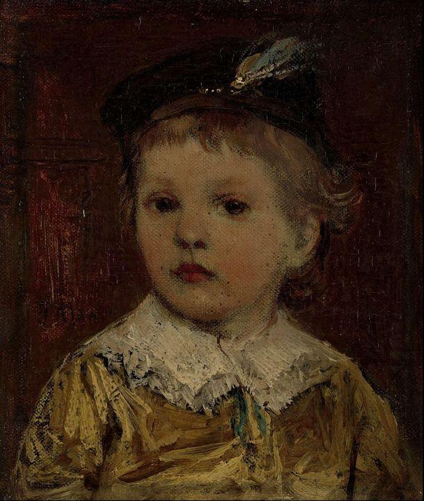 Jacob Maris~Portret van Willem', ver - Classical art