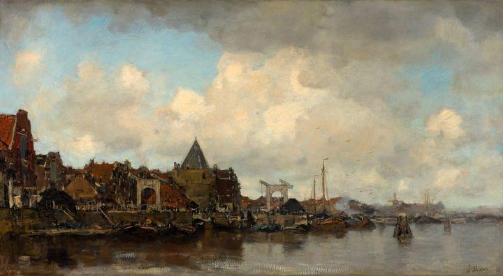 Jacob Maris~The Schreierstoren - Classical art