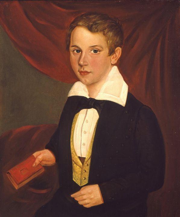 Jacob Marling~Portrait of a Boy - Classical art