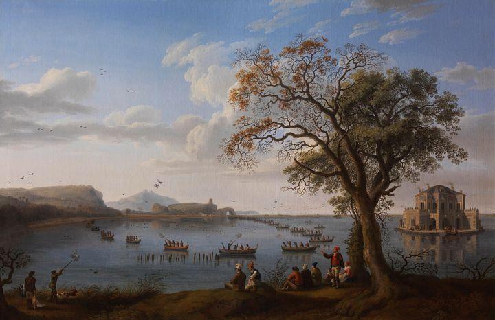 Jacob Philipp Hackert~Ferdinand IV H - Classical art