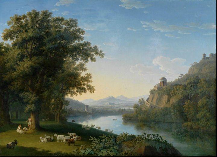 Jacob Philipp Hackert~Italienische L - Classical art