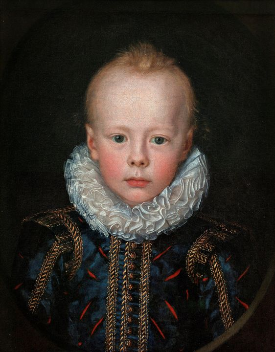 Jacob van Doordt~Child Portrait of a - Classical art