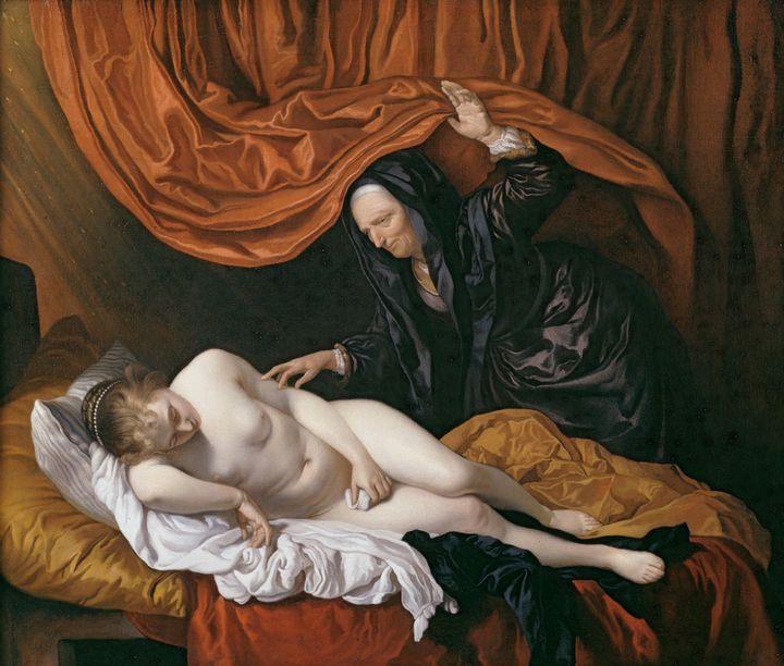 Jacob van Loo~Danae - Classical art