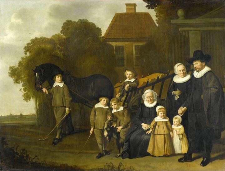 Jacob van Loo~Group Portrait of the - Classical art