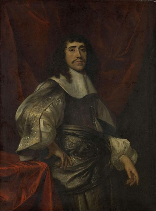 Jacob van Loo~Portrait of a Man, tho - Classical art