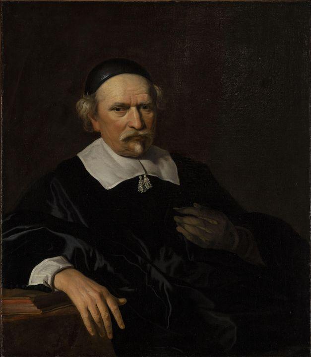 Jacob van Loo~Portrait of Scientist - Classical art