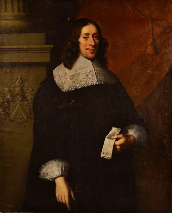 Jacob Van Oost~Retrato de Jean-Bapti - Classical art