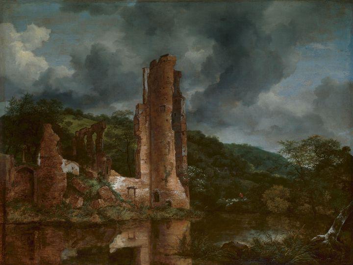 Jacob van Ruisdael (Dutch, 1628-1682 - Classical art