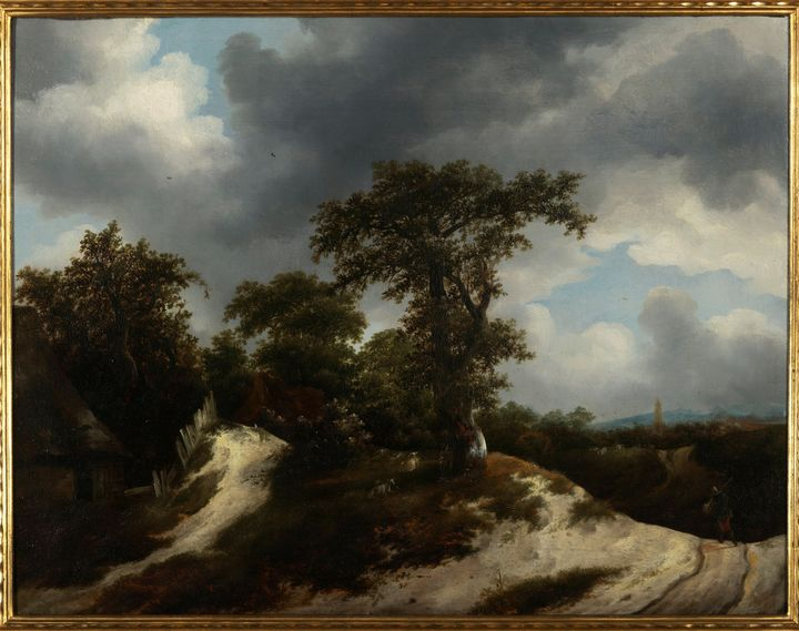 Jacob van Ruisdael~Countryside - Classical art