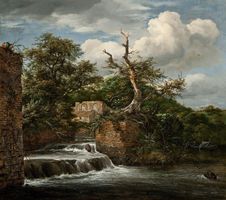 Jacob van Ruisdael~Landscape with a - Classical art