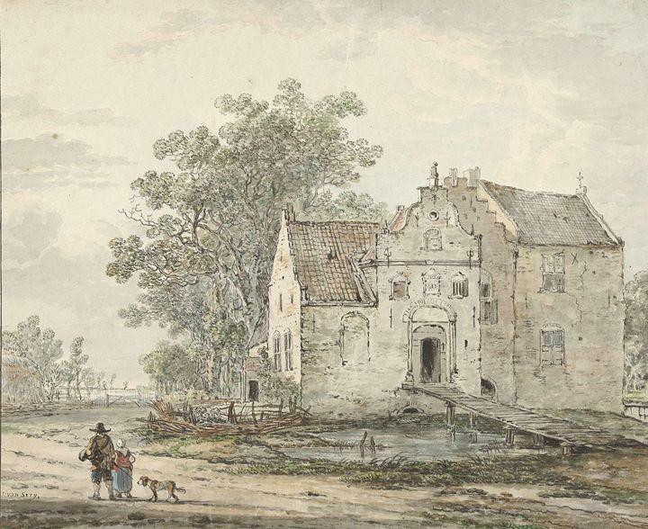 Jacob van Strij~Kasteel IJzendoorn i - Classical art