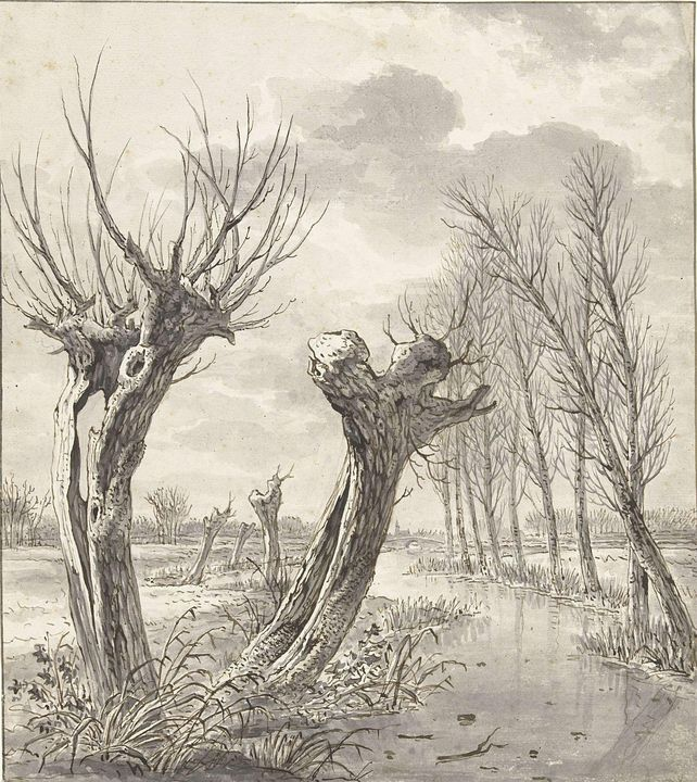Jacob van Strij~Winterlandschap met - Classical art
