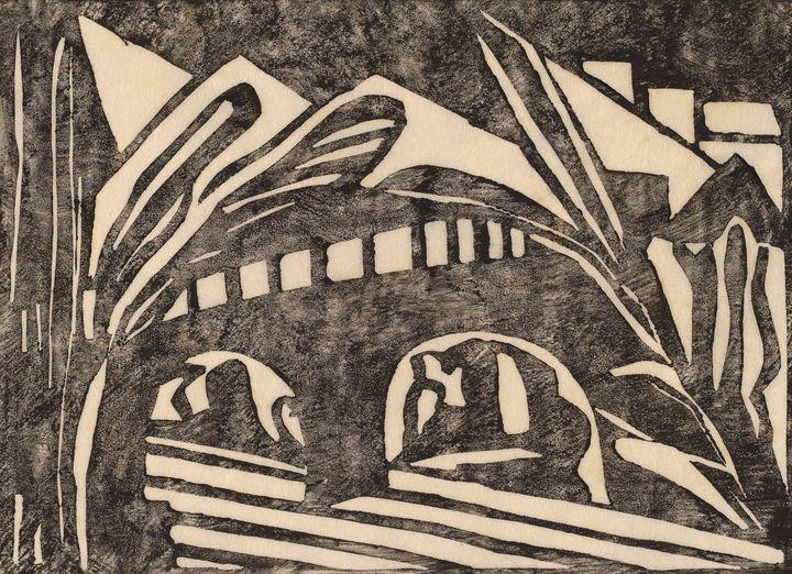Jacoba van Heemskerck~Bridge - Classical art