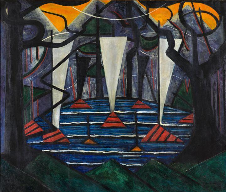Jacoba van Heemskerck~Composition no - Classical art