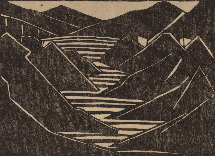 Jacoba van Heemskerck~Fjord - Classical art