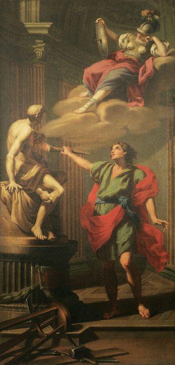 Jacopo Alessandro Calvi~Prometheus a - Classical art