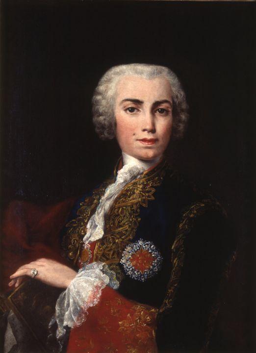 Jacopo Amigoni~Retrato de Carlo Marí - Classical art