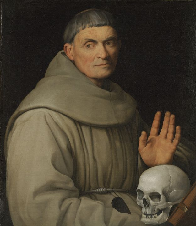 Jacopo Bassano~Portrait of a Francis - Classical art
