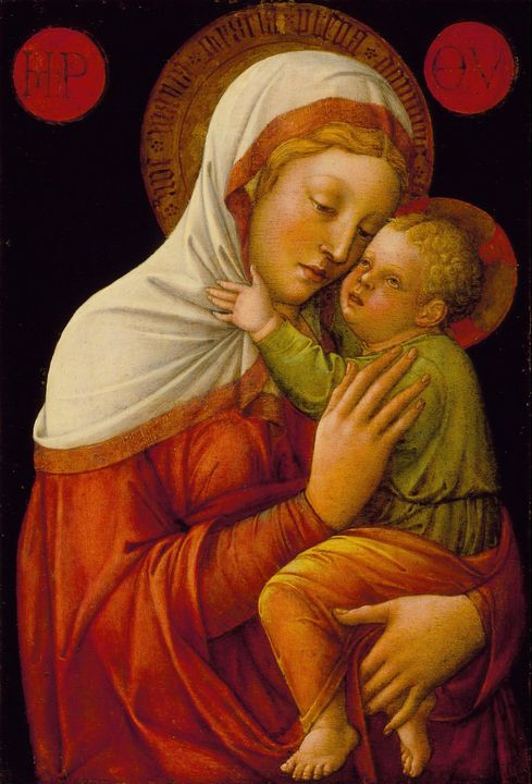 Jacopo Bellini~Madonna and Child - Classical art