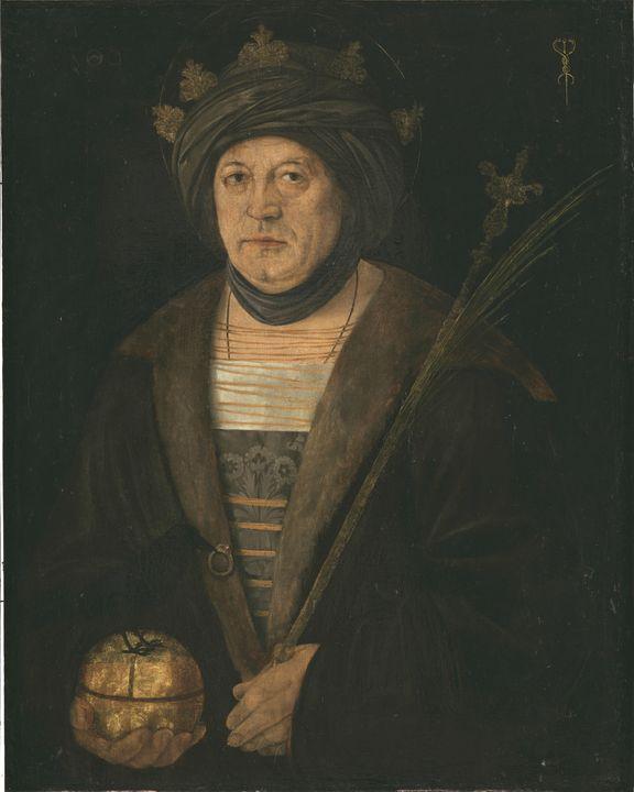 Jacopo de' Barbari~Portrait of King - Classical art