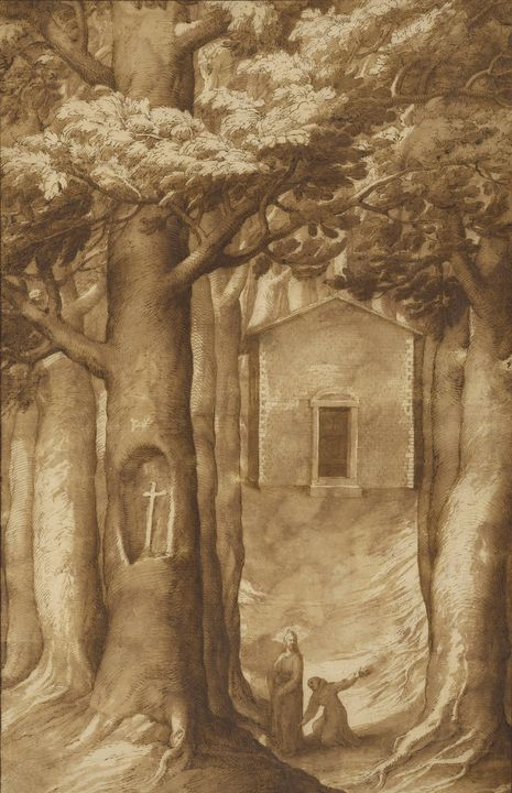 Jacopo Ligozzi~La Verna The Chapel o - Classical art