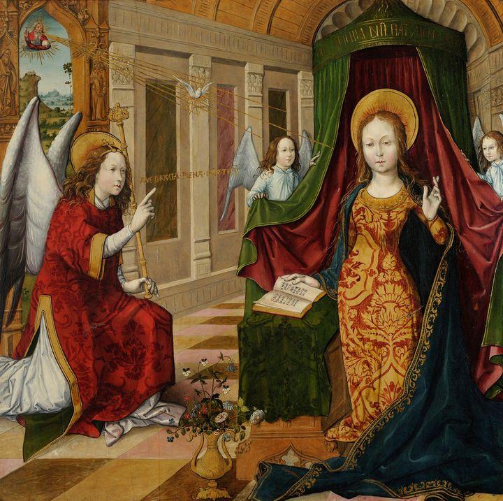 Jacquelin de Montluçon~The Annunciat - Classical art