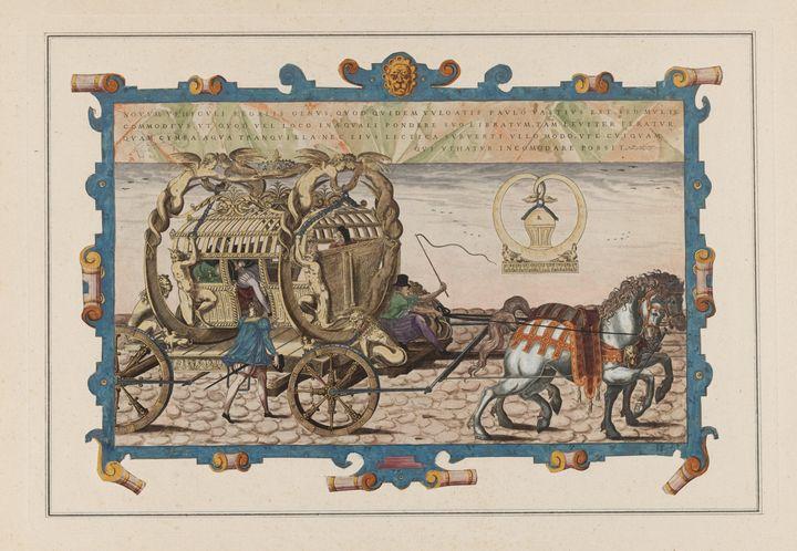 Jacques Androuet Ducerceau~Plate 17 - Classical art