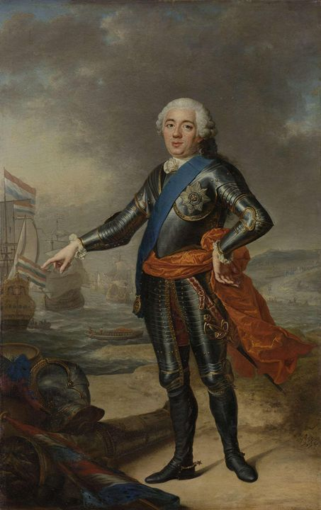 Jacques Aved~Portrait of William IV - Classical art