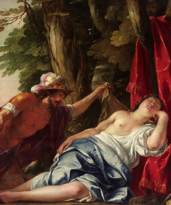 Jacques Blanchard~Mars and the vesta - Classical art
