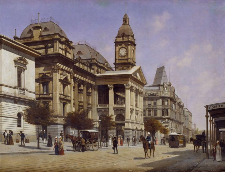 Jacques Carabain~Melbourne Town Hall - Classical art