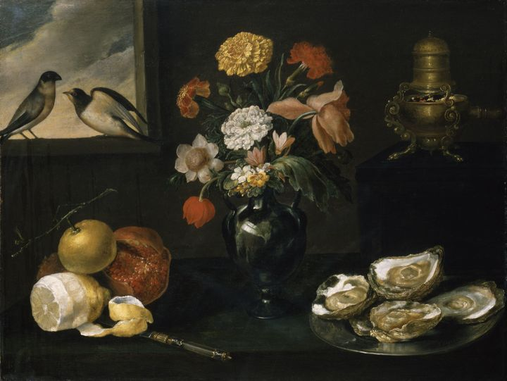 Jacques Linard~Still Life with the F - Classical art