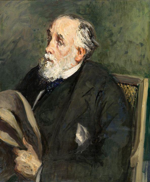 Jacques-Emile Blanche~Portrait of De - Classical art