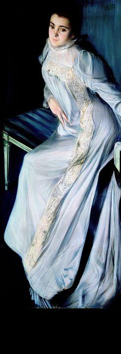 Jacques-Emile Blanche~Portrait of Eu - Classical art