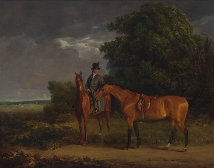 Jacques-Laurent Agasse~A Groom Mount - Classical art