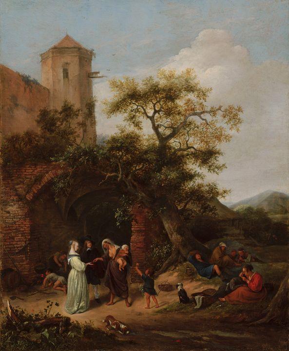 Jan Steen~The Fortune Teller - Classical art